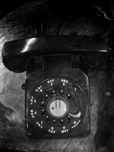 old phone 2.BW